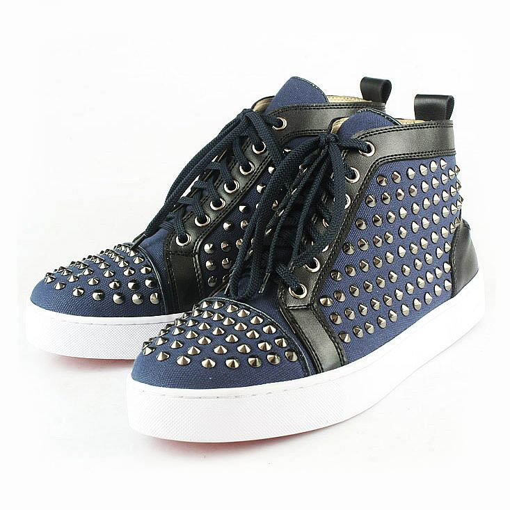 louboutin sneakers femme pas cher