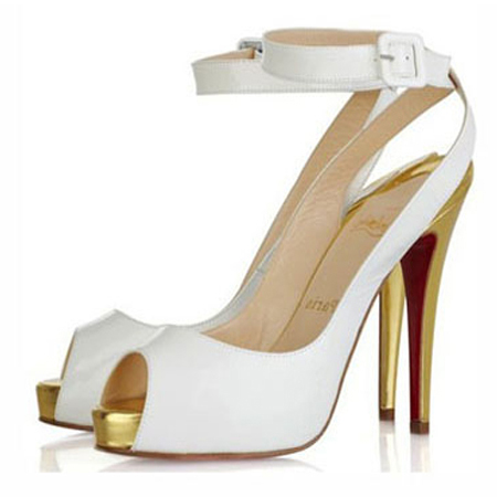 chaussures louboutin blanches pas cher