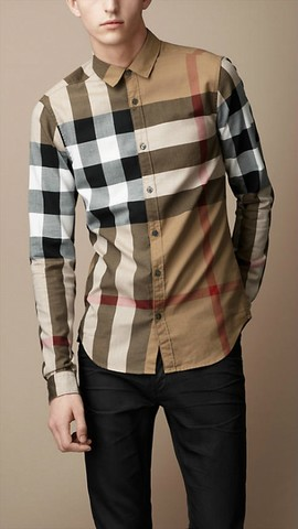 81f9b08d24d2 chemise imitation burberry femme