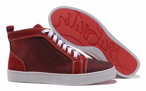 louboutin chaussure prix homme