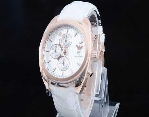 montre armani blanche 5cc89cf2d777