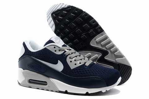 Nike Baskets Cuir Air Max 90 Homme